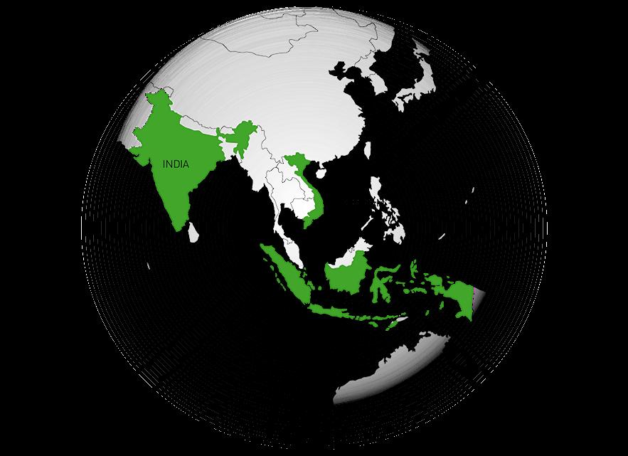 In Asien sehr erfolgreich unterwegs – die BITZER Erfolgsländer Vietnam, Indonesien und Indien
