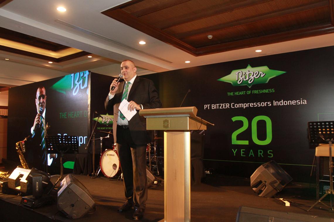 Luca Bernini, Managing Director Sales and Marketing South East Asia, blickte stolz auf die vergangenen Jahre zurück