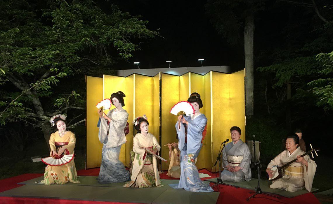 Programmeinlage beim Asia Distributor Meeting im Jahr 2016 in Kyoto
