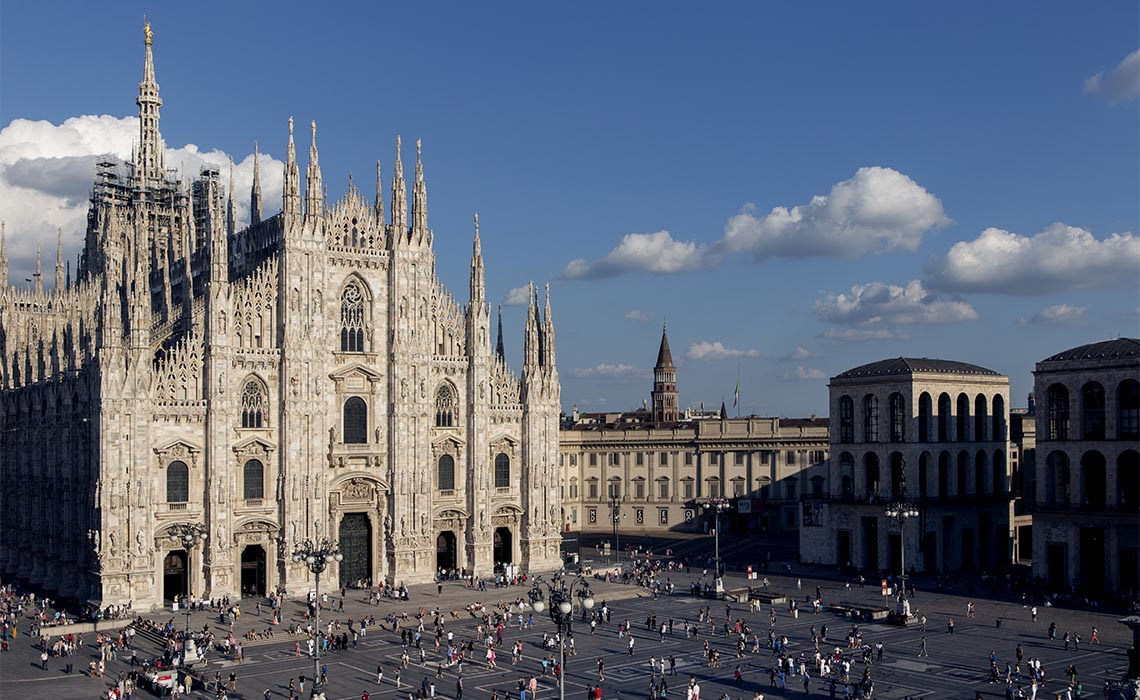 Imposant: Der Mailänder Dom besticht durch seine beeindruckende Baukunst