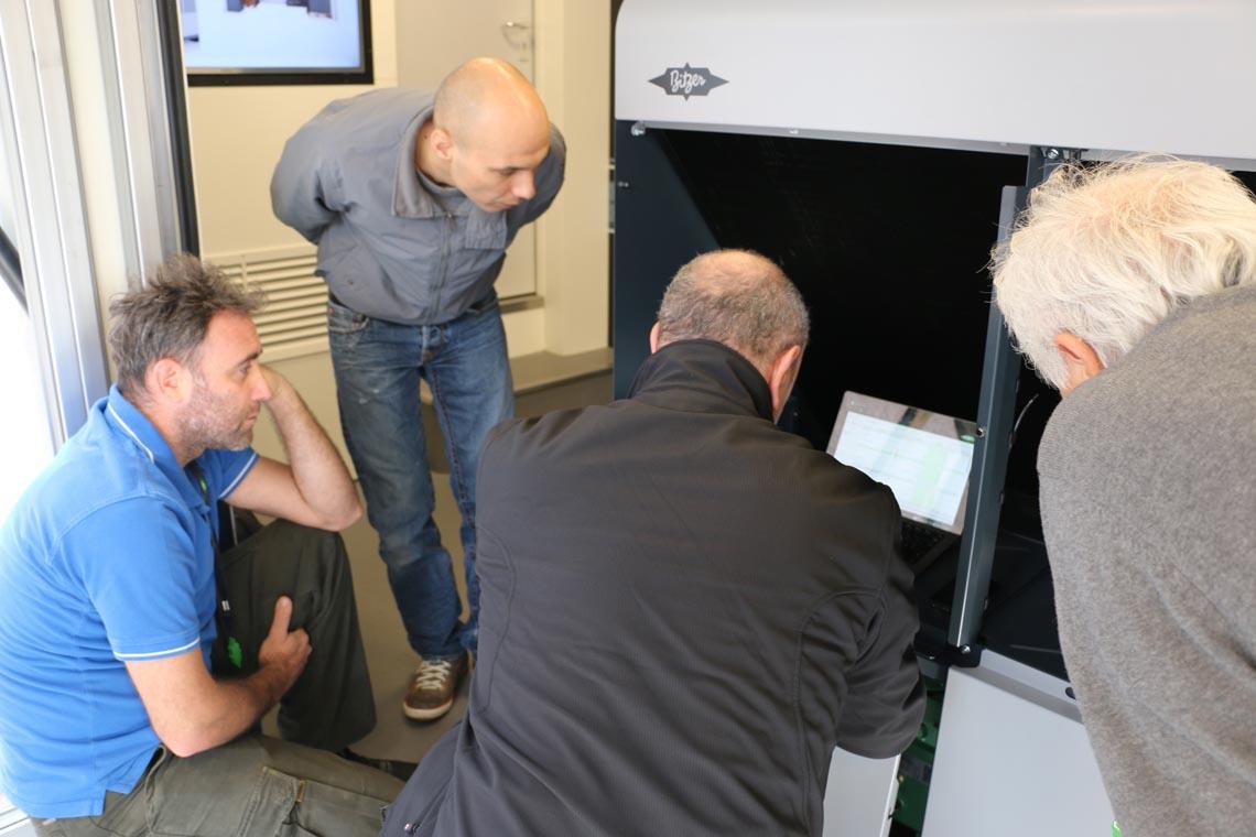 Die Aufmerksamkeit der Besucher galt vor allem den beiden neuen Serien ECOSTAR LHV5E und LHV7E