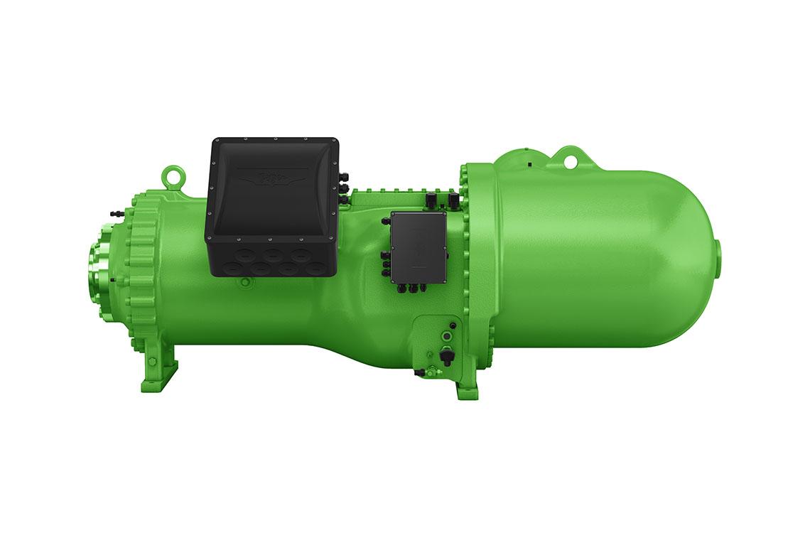 Der neue BITZER CSW 105 Schraubenverdichter ist energieeffizient und für flexible Einsatzgebiete optimiert