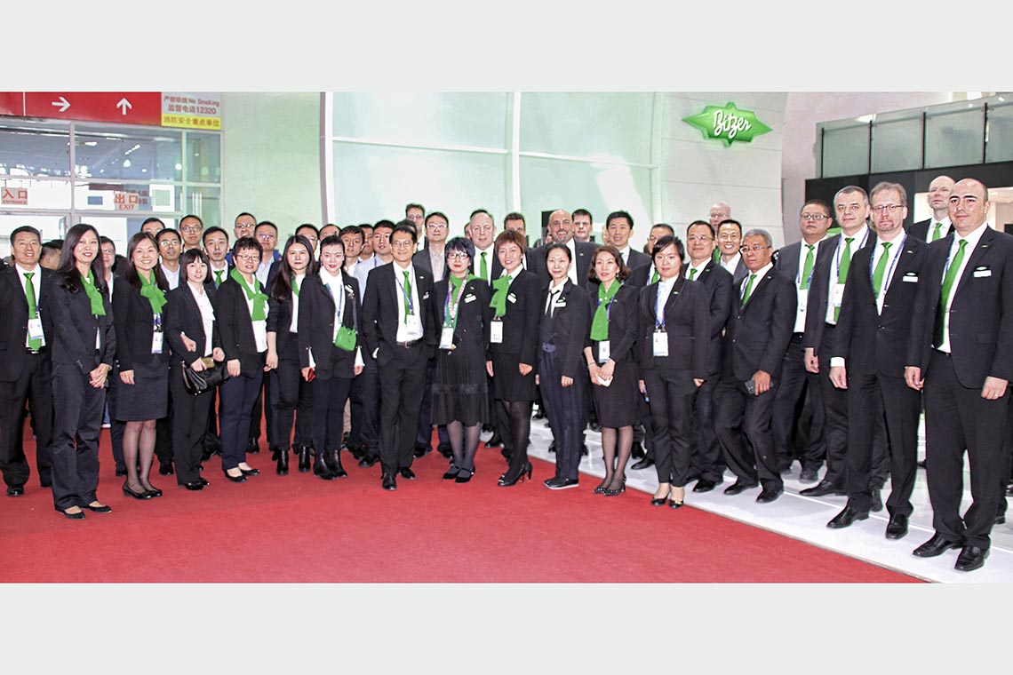 Die große BITZER Delegation auf der China Refrigeration 2018