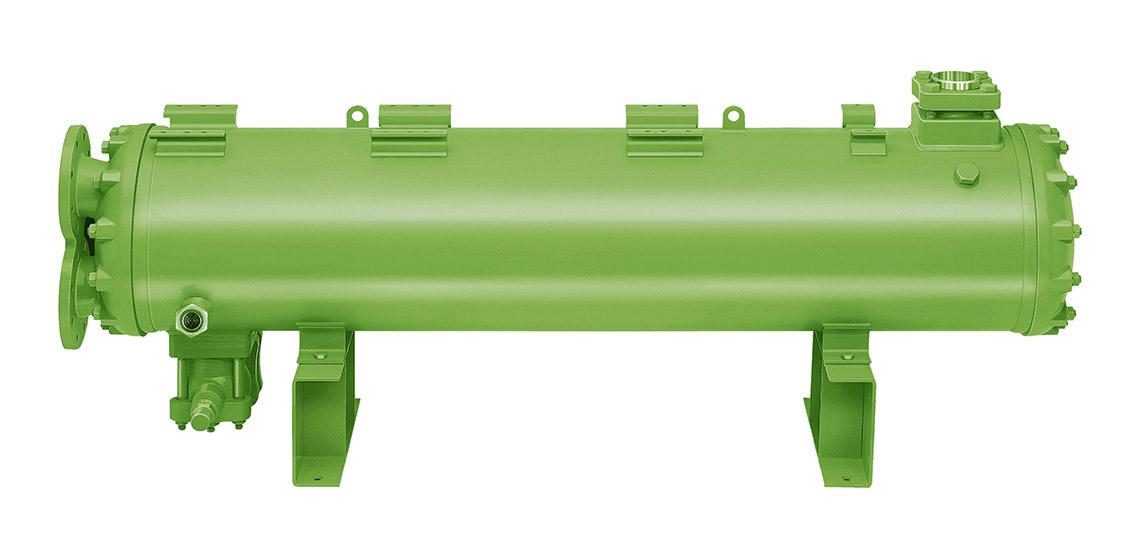 HEXPV, wassergekühlte Verflüssiger, Bündelrohrverflüssiger