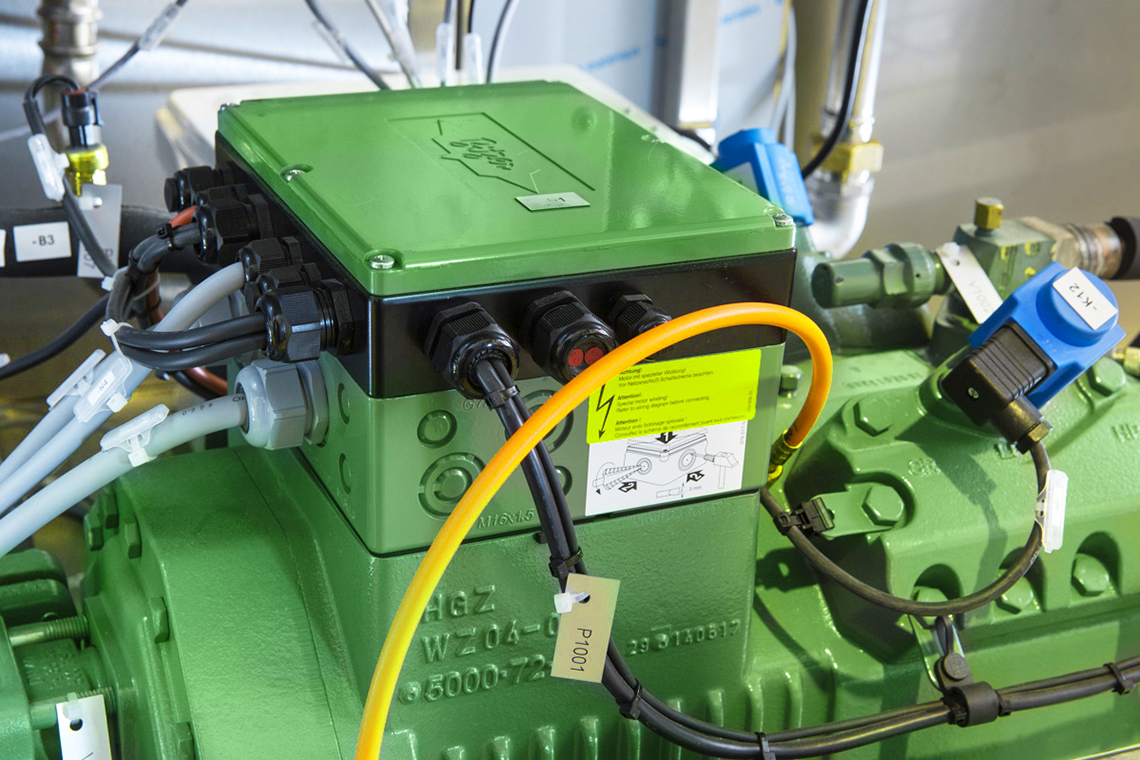 BITZER VARISTEP enables virtually stepless capacity control