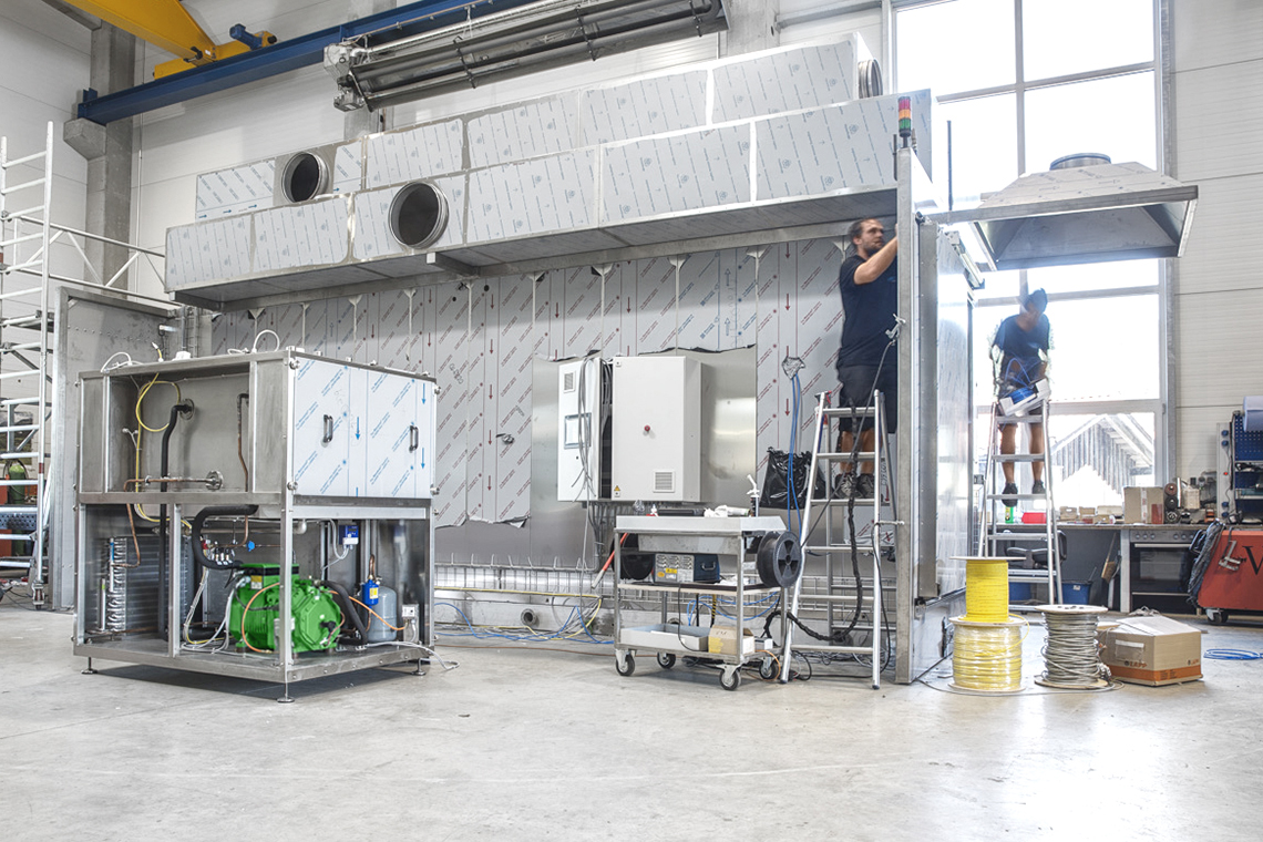 Harter has been fully reliant on BITZER technology since January 2018