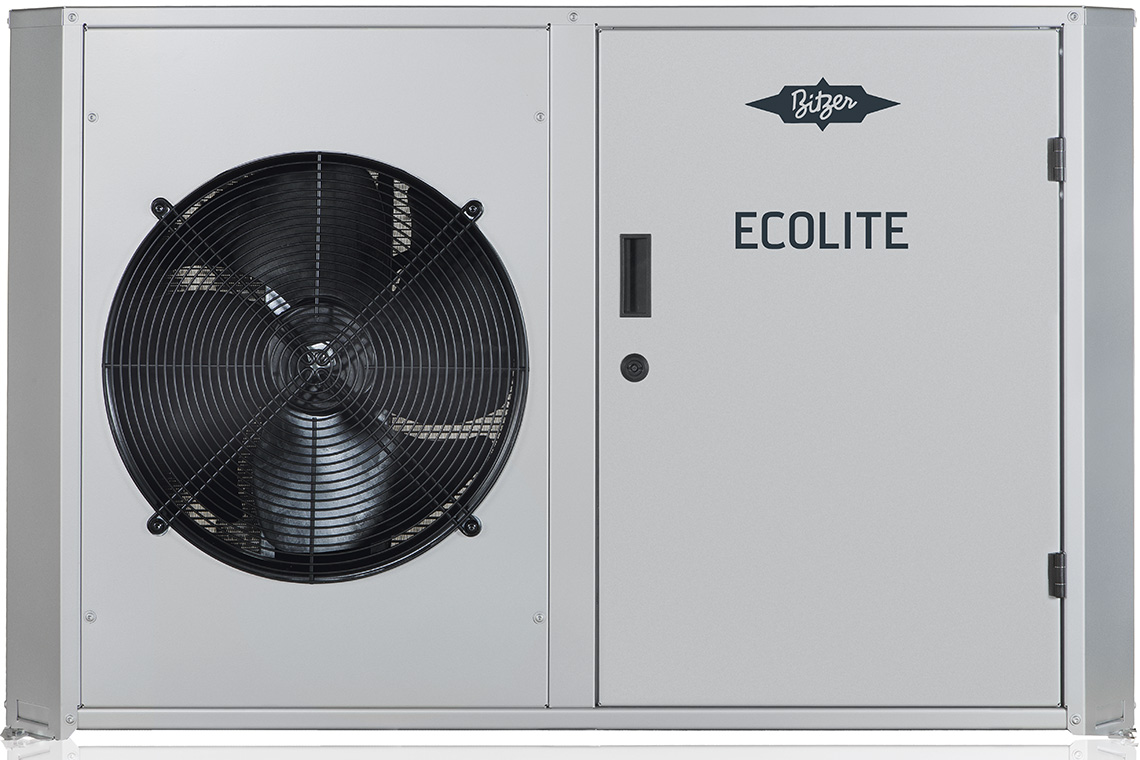 ECOLITE condensing units with grey housing