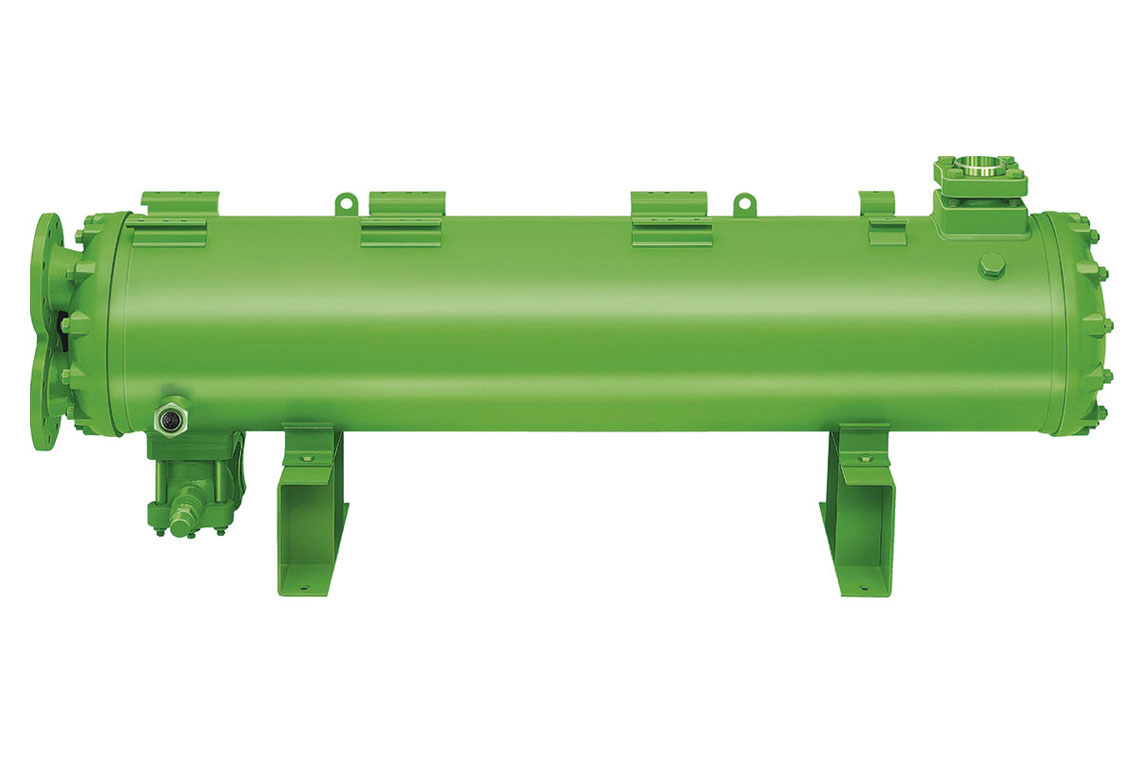 Green BITZER condensers from the HEXPV (heat exchanger and pressure vessel) product line