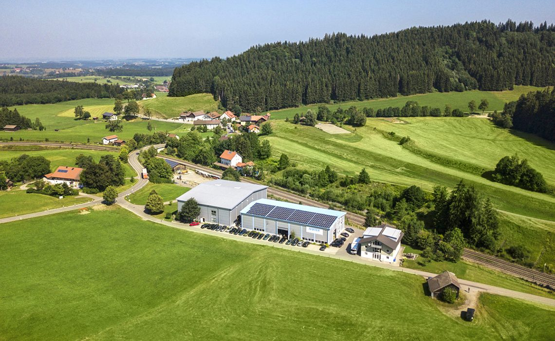 Harter headquarters in the Allgäu region
