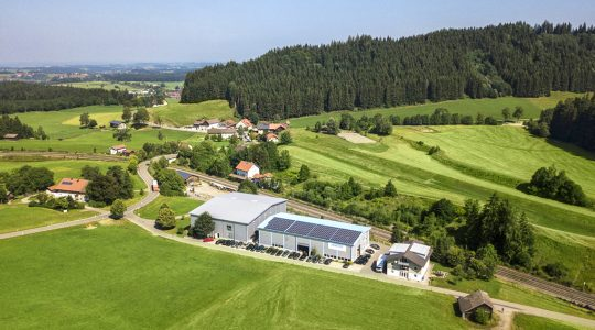Harter headquarters in the Allgäu region